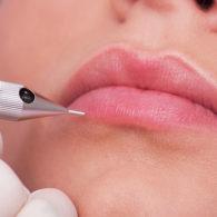 Micropigmentación en labios. Maquillaje permanente