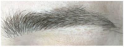 Microblading ceja masculina